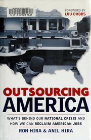 Cover of: Outsourcing America | Ron Hira