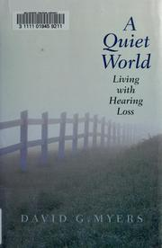 Cover of: A quiet world