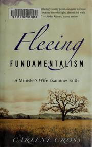 Cover of: Fleeing fundamentalism