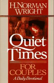 Cover of: Quiet Times for Couples