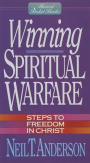 Cover of: Winning Spiritual Warfare | Neil T. Anderson