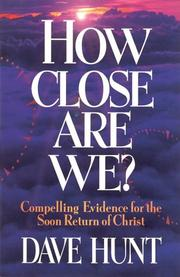 Cover of: How close are we?