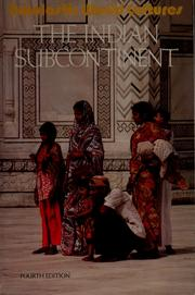 Cover of: The Indian subcontinent | Irwin Isenberg