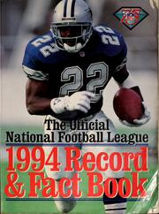 Cover of: Official 1994 National Football League record & fact book