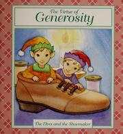 Cover of: The Virtue of Generosity