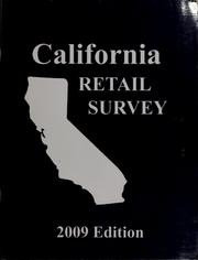 Cover of: California retail survey |