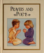 Cover of: Prayers and poems