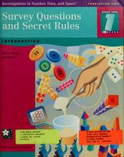 Cover of: Survey questions and secret rules | Tracey Wright