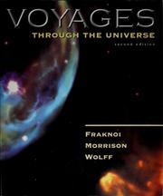 Cover of: Voyages through the universe
