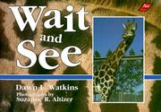 Cover of: Wait and see