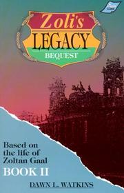 Cover of: Zoli's Legacy