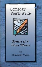 Cover of: Someday you'll write