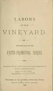 Cover of: Labors in the vineyard |