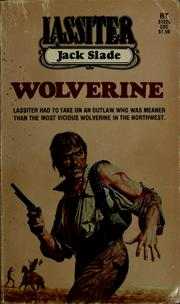 Cover of: Wolverine | Jack Slade