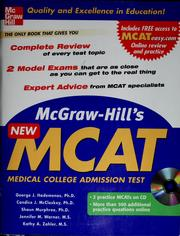 Cover of: McGraw-Hill's new MCAT
