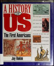 Cover of: A history of US