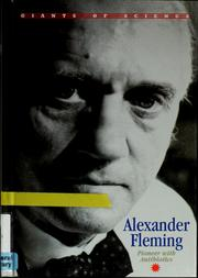 Cover of: Alexander Fleming