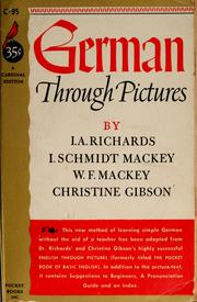 Cover of: German through pictures