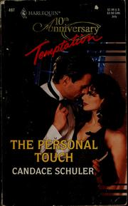 Cover of: The personal touch | Candace Schuler