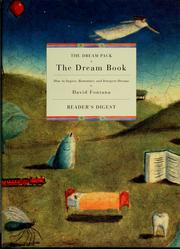 Cover of: The dream book | David Fontana