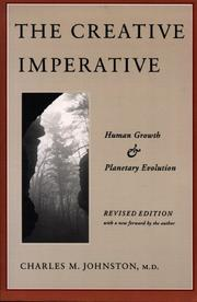 Cover of: The Creative Imperative