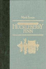 Cover of: The Adventures of Huckleberry Finn | Mark Twain