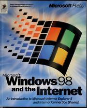 Cover of: Microsoft Windows 98 and the internet