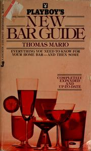 Cover of: Playboy's new bar guide | Thomas Mario