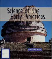 Cover of: Science of the early Americas