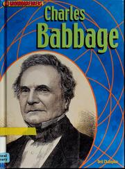 Cover of: Charles Babbage