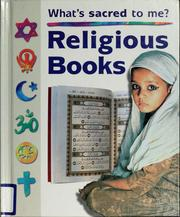 Cover of: Religious books | Anita Ganeri