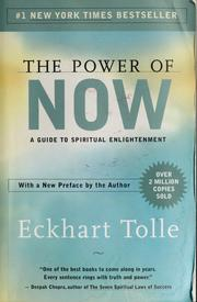 Cover of: The power of now by Eckhart Tolle
