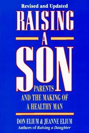 Cover of: Raising a son | Jeanne Elium