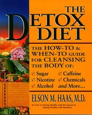 Cover of: The detox diet