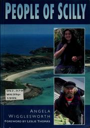 Cover of: People of Scilly | Angela Wigglesworth