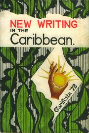 Cover of: New writing in the Caribbean