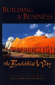 Cover of: Building a Business the Buddhist Way