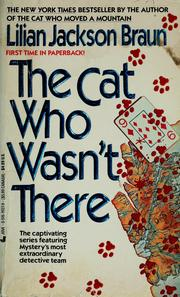 Cover of: The cat who wasn't there by Jean Little