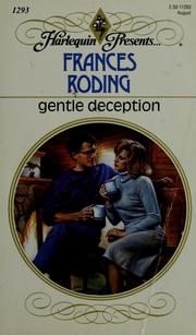Cover of: Gentle deception | Frances Roding