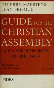 Cover of: Guide for the Christian assembly