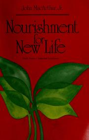 Cover of: Nourishment for new life