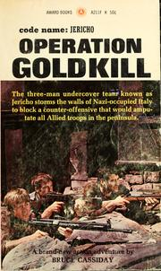 Cover of: Operation goldkill
