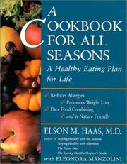 Cover of: A cookbook for all seasons