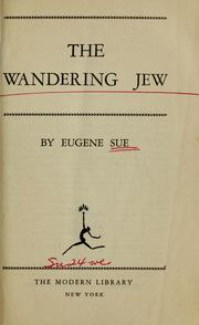 Cover of: The wandering Jew ...