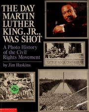 Cover of: The day Martin Luther King, Jr., was shot