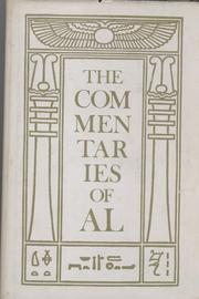 Cover of: The commentaries of AL