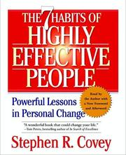 Cover of: The 7 Habits of Highly Effective People [sound recording] |