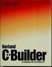 Borland C++ Builder 3 for Windows 95 and Windows NT by Borland International