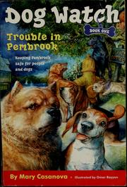 Cover of: Trouble in Pembrook | Mary Casanova