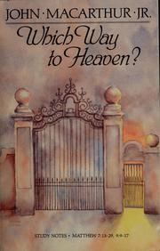 Cover of: Which way to heaven